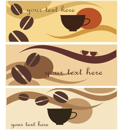 achtergrond wih koffie pictogram