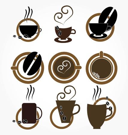 coffee machine: cup of coffee.set.