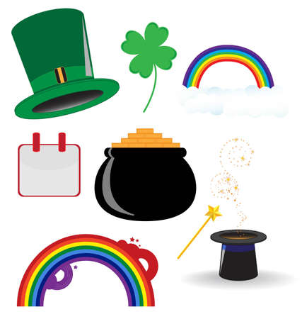 St. Patrics Icon Vector