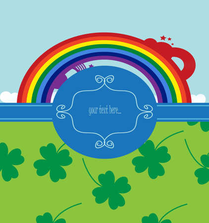 background for st. patrick day  Vector