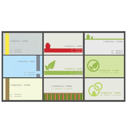 visitenkarte: Sammlung von vertikalen Visitenkarte
