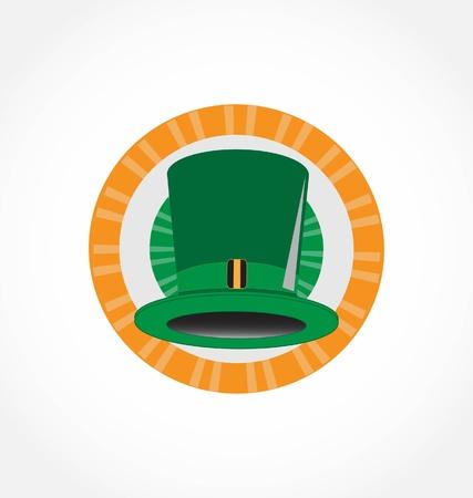 green Hat Stock Vector - 8828345