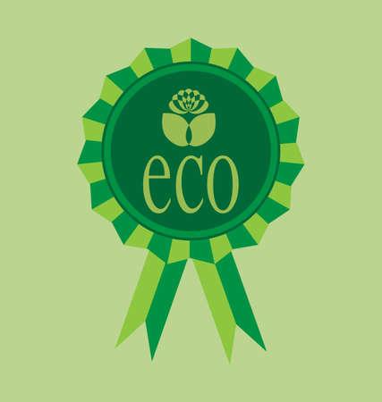 Ecological emblem Stock Vector - 8828355