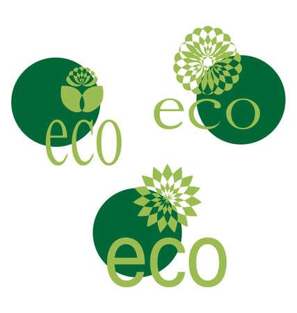 Ecological emblem Stock Vector - 8828359