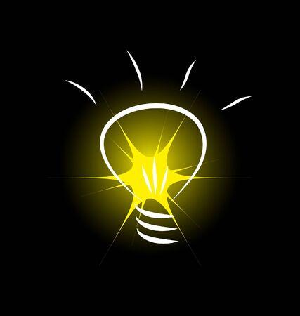 電球ベクトル画像