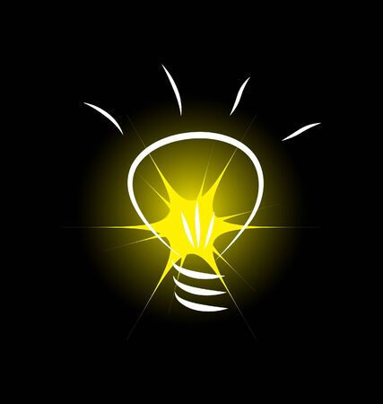 bulb vector image Stock Vector - 8924118