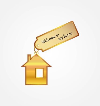 welcome to my home Vector