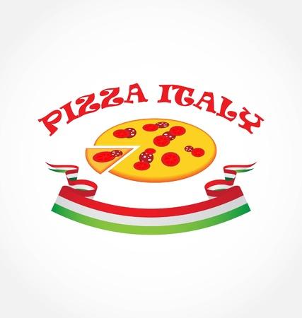 pizza italy Stock Vector - 9088830