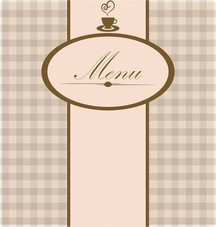 menu card Vector
