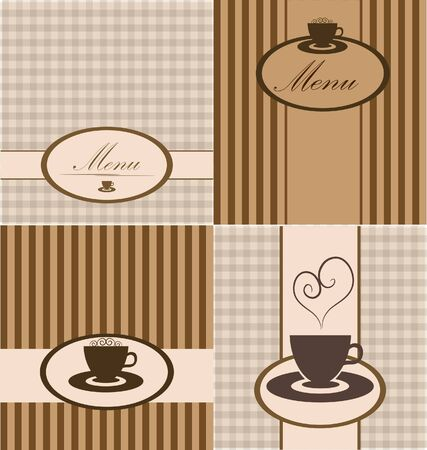 menu card. set. Stock Vector - 9493664