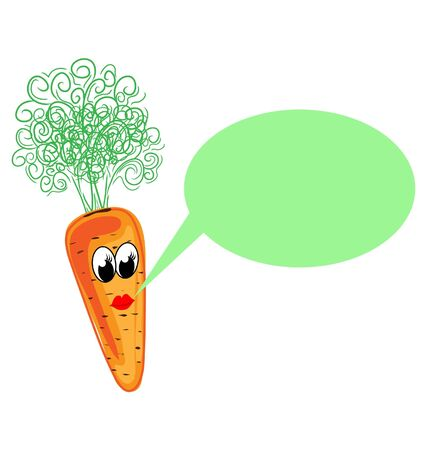 vegetable fat: Carrot  character