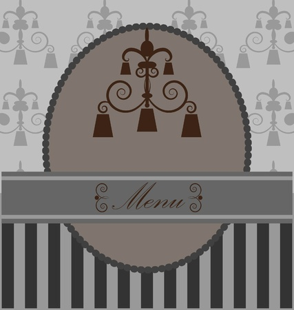 concise: background  with  vintage design elemenet
