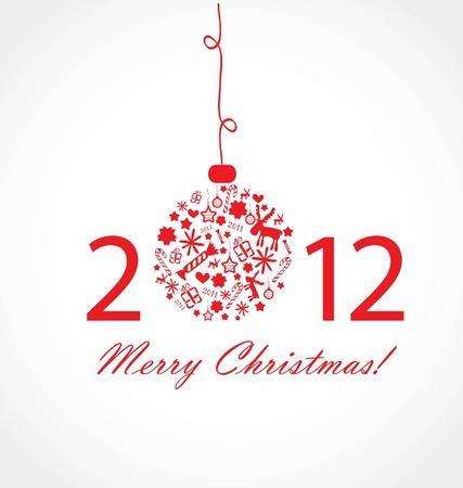 Christmas card Stock Vector - 10401832