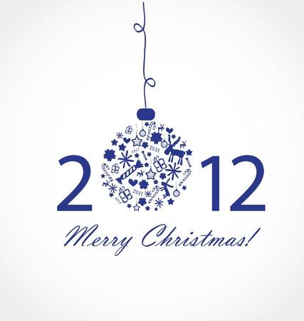 Christmas card Stock Vector - 10401831