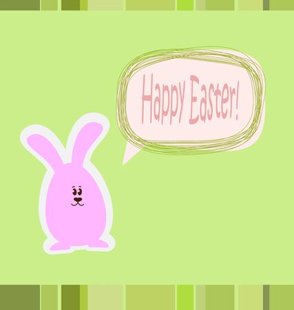 Happy Easter card Stock Vector - 12978687