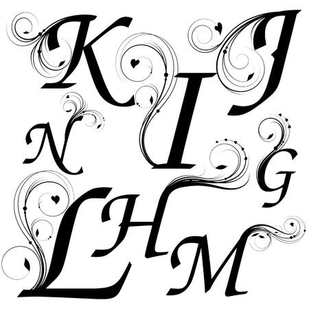 stílus: levelei G évig N virágos dizájn