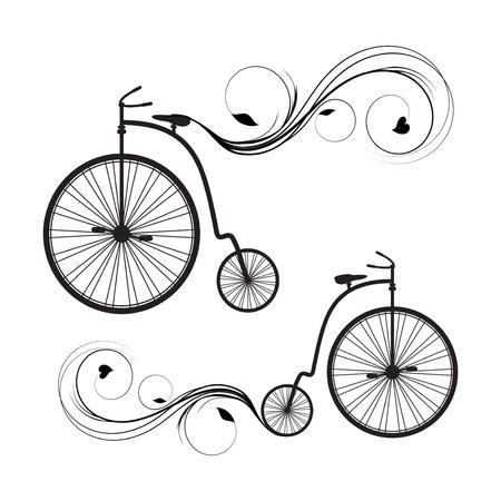 Retro bicycle Imagens - 20856266