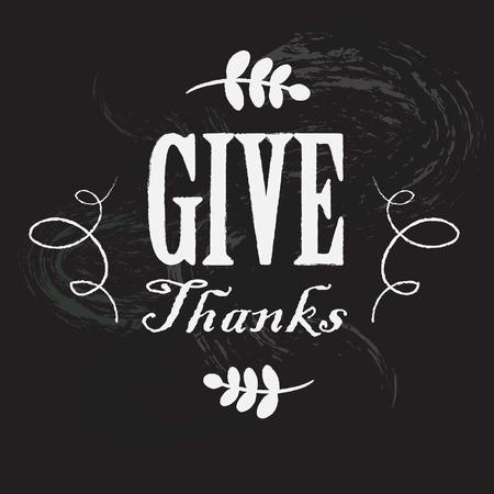 感謝祭の日のカード