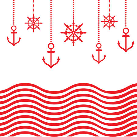 mariner: Design Nautical Template Illustration