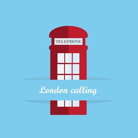 phonebox: Red britain telephone box