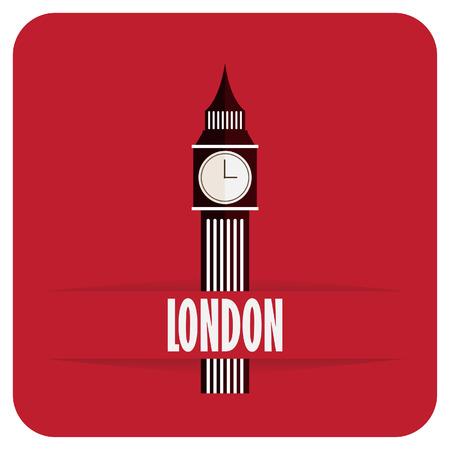 clock tower: Big Ben icon
