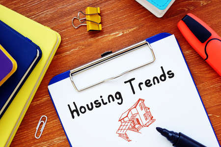 Housing Trends inscription on the sheet.