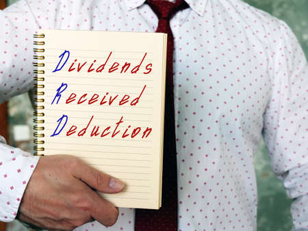 Dividends Received Deduction DRD sign on the page.