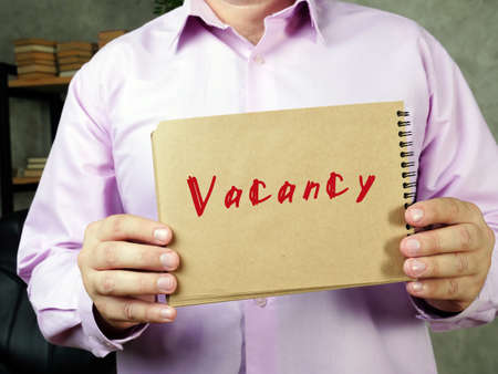 Vacancy phrase on the page.