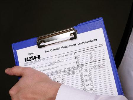 Form 14234-D Tax Control Framework Questionnaire