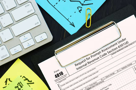Form 4810 Request for Prompt Assessment Under Internal Revenue Code Section 6501 (d)