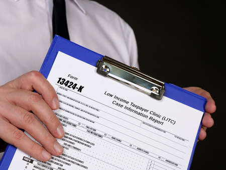 Form 13424-K Low Income Taxpayer Clinic (LITC) Case Information Report