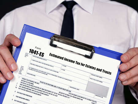 Form 1041-ES Estimated Income Tax for Estates and Trusts