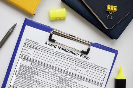 SBA form 3300 Award Nomination Form