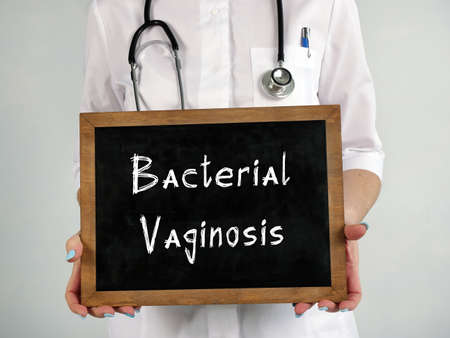 Bacterial Vaginosis inscription on the sheet.