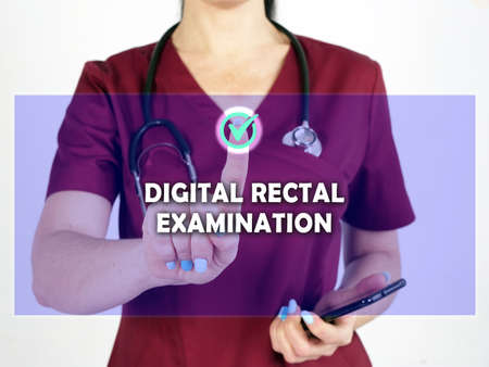 Select DIGITAL RECTAL EXAMINATION DRE menu item. Modern Medic use cell technologies.