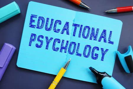 Business concept about Educational Psychology with inscription on the page. Banque d'images