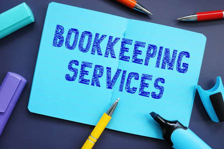 Bookkeeping Services phrase on the page.