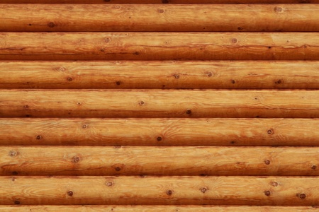 log on: Wooden background - part of log cabin