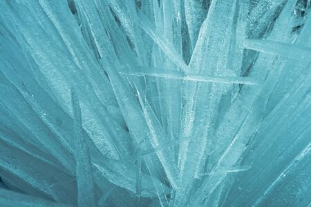 Fine background from an ice structure in Baikal Stock Photo - 17755604