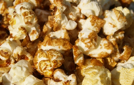 goodie: chocolate Popcorn - Temptation to nibble