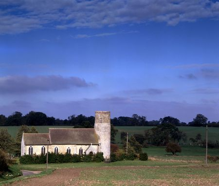 Round tower churches of East Anglia photo