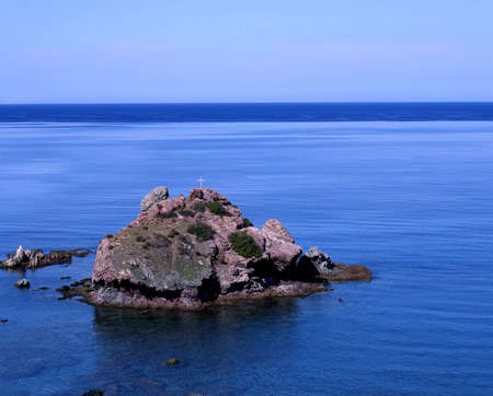 georges: St Georges Island, near the baths of Aphrodite, Cyprus