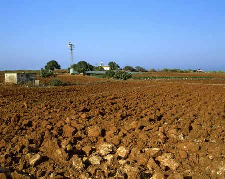 Irrigation and agriculture in southern Cyprus near Paralimni Stock Photo - 2951055
