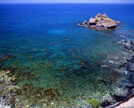 afrodite: La piccola roccia formazione denominata Bagni di Afrodite, sull'isola di Cipro