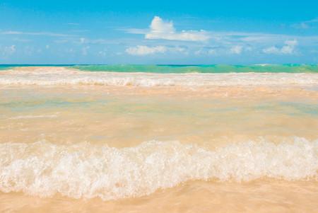 cana: Macao beach, Punta Cana Stock Photo