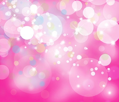 christmas pink: Defocused glittering lights background.