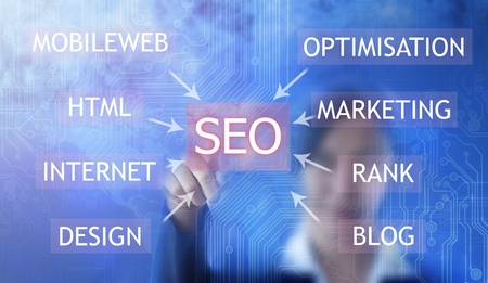 SEO - Search Engine  Stock Photo