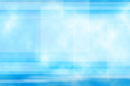 Le fond bleu et la ligne du résumé