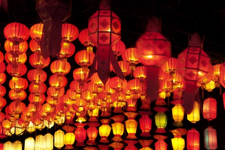 chinatown: Asian lanterns