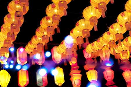 chinatown: Asian lanterns